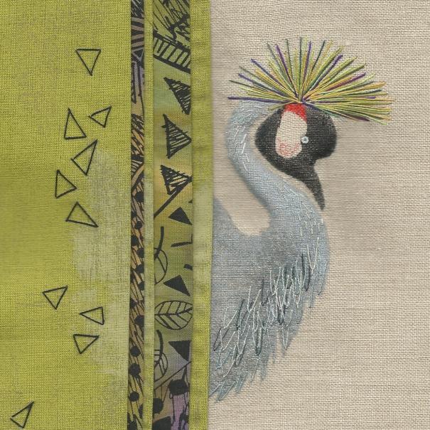 crested crane 200