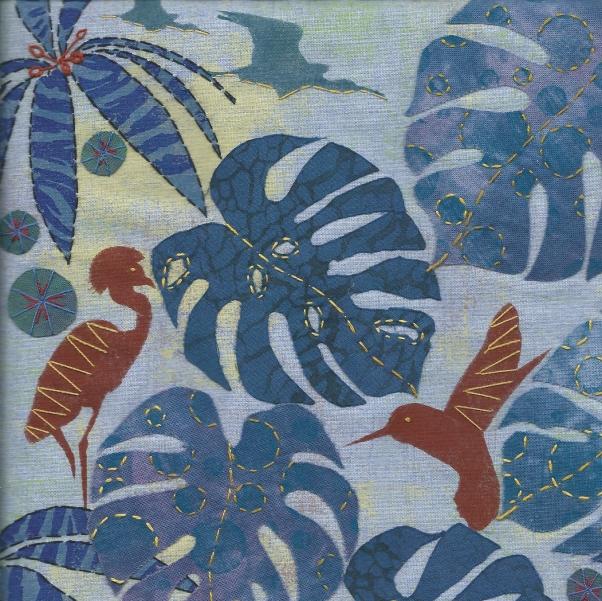 Jungle Blue crane